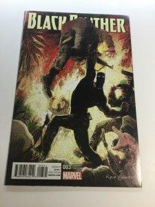 Black Panther 3 Baker Variant Nm Near Mint Marvel Comics