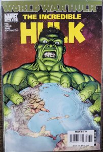 Incredible Hulk #106 (2007) WORLD WAR HULK - LOW PRINT