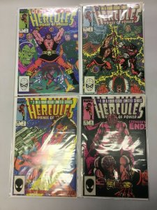 Hercules set #1-4 Direct 2nd Series 4 different books 8.0 VF (1984) Marvel