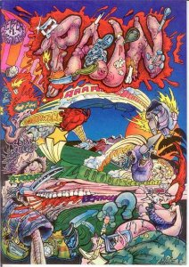PAIN (1977 BAGGINER) 1 FINE Geiser COMICS BOOK