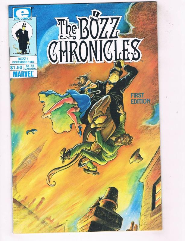 Bozz Chronicles (1985) #1 Epic Comic Book Bret Blevins Premiere Issue HH4 AD38