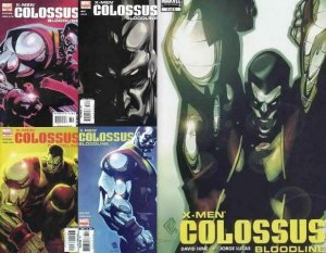 X MEN COLOSSUS BLOODLINE (2005) 1-5  complete story!