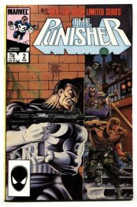 Punisher Limited Series #2 1986 2nd Issue Marvel VF/NM