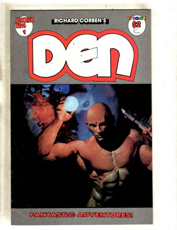 Lot Of 10 Den Fantagor Press Comic Books # 1 2 3 4 5 6 7 8 9 10 Rich Corben FM8