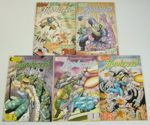 Appleseed Book Three #1-5 VF/NM complete MASAMUNE SHIROW studio proteus III