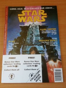 Star Wars Magazine #2 ~ VERY FINE - NEAR MINT NM ~ 1992 WITH TRADING CARDS!