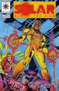 Solar, Man of the Atom #30 VF/NM; Valiant | save on shipping - details inside