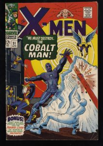 X-Men #31 FN 6.0 White Pages