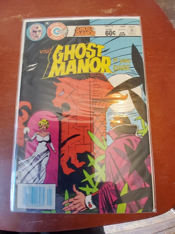 Ghost Manor #72 (1984)