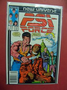 PSI FORCE NEW UNIVERSE #6   (9.0 to 9.4 or better)  MARVEL COMICS