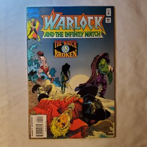 Warlock and the Infinity Watch 42 Very Fine+ Final issue