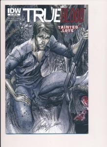 TRUE BLOOD Tainted Love #4, Variant Cover RIA ~2011~ IDW Comics ~ F/VF (HX375)