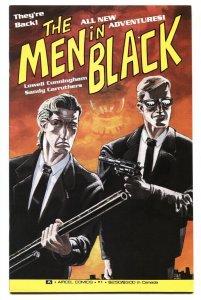 MEN IN BLACK Book II #1-comic book 1991-AIRCEL-1ST ISSUE VF/NM