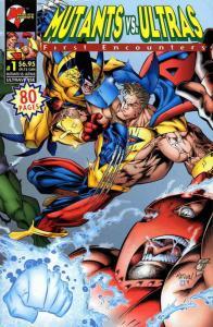 Mutants vs. Ultras: First Encounters #1 VF/NM; Malibu | save on shipping - detai