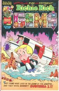 RICHIE RICH GEMS (1974-1982) 5 VF-NM May 1975 COMICS BOOK