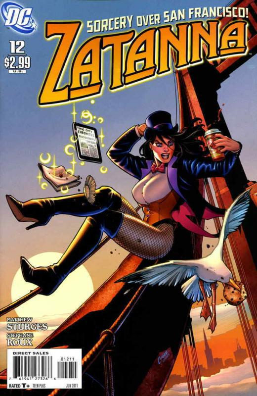 Zatanna (2nd Series) #12 VG; DC | low grade comic - save on shipping - details i