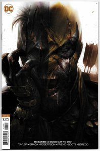 DCeased A Good Day To Die #1 Mattina Deathstroke Zombie Variant Cvr (2019) NM