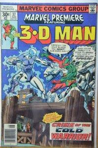 Marvel Premiere #37 (1977) 3D Man !!