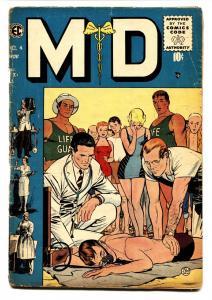 MD #4 1955-EC Comics-medical comic- Johnny Craig G