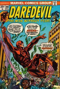 Marvel Comics Daredevil #109 Black Widow VF
