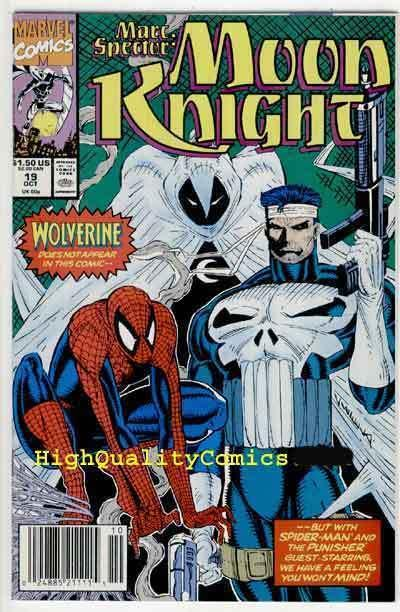 MOON KNIGHT #19 20 21, NM+, Marc Spector, Punisher, Spider-Man, more in store