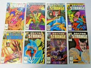 Doctor Strange lot from:#50-80 2nd Series 24 different books 8.0 VF (1982-1986)