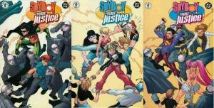 SPYBOY YOUNG JUSTICE (2002 DH/DC) 1-3  COMPLETE!