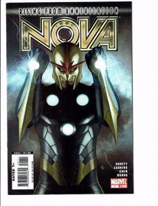Nova # 1 VF/NM Marvel Comic Book 1st Print Avengers Thanos Drax Ronan GOTG J100
