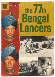 77th Bengal Lancers-Four Color Comics #791 1957 VG