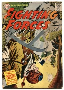 Our Fighting Forces #18-1957-DC silver age war VG+