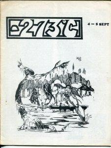 -273º C  #4 1971-Zero Pubs-fanzine reviews-Sub-mariner-double issue-VG/FN