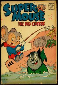 Supermouse The Big Cheese #36 1956- Funny Animals- Noahs Ark VG-