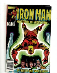 10 Iron Man Marvel Comics # 185 186 187 188 189 191 192 193 194 195 Stark J451