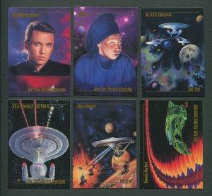 1993 Skybox Star Trek Master Series Set MINT