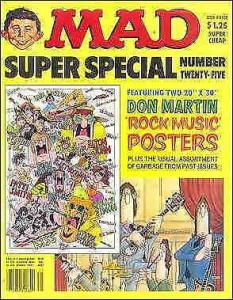 Mad Super Special #25 VG; E.C | low grade comic - save on shipping - details ins