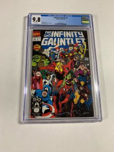 Infinity Gauntlet 3 Cgc 9.8 White Pages Marvel