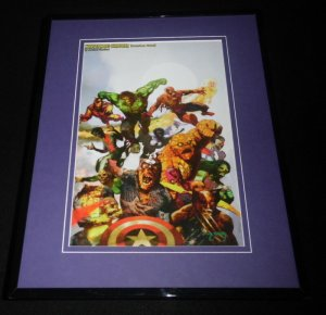 Marvel Zombies Hardcover Framed 11x14 Poster Display Captain America Hulk