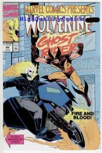 MARVEL COMICS PRESENTS #66, NM+, Wolverine, Ghost Rider, more MCP in store