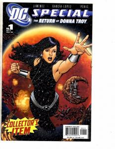 RETURN of DONNA TROY #1 2 3 4, NM+, Wonder Woman, 2005, more WW in store