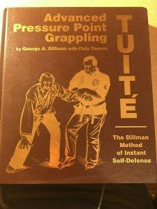 Advanced Pressure Point Grappling George Dillman Tuite Martial Arts Book MFT2