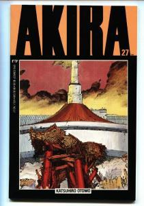 Akira #27 1991- Katsuhiro Otomo- Epic / Marvel Manga - Japanese comic NM