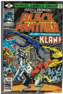MARVEL PREMIERE 52 FN- Feb. 1980  BLACK PANTHER/KLAN