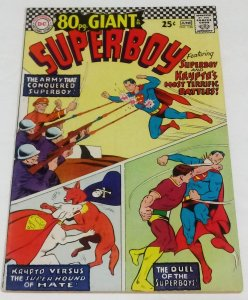 Superboy #138 (6.5-7.0) 1967 - 80pg Giant Duel of The Superboy's DC Comics ID07H