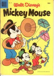 MICKEY MOUSE 47 VG-F May 1956 COMICS BOOK