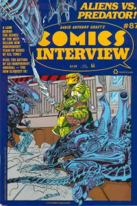 Comics Interview #87 FN; Fictioneer | save on shipping - details inside