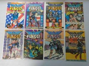 First Comics American Flagg Comic Lot 33 Different Books 8.0 VF (1983-1988)