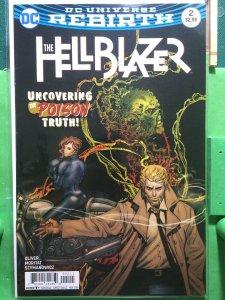 The Hellblazer #2 DC Universe Rebirth