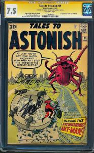 Tales to Astonish #39 (Marvel, 1963) CGC 7.5 SS Stan Lee & Larry Lieber