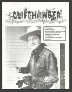 Cliffhanger #17 1993-WOY-Classic zine for fans & collectors of serials-Deadwo...