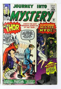 Journey into Mystery (1952 series) #99, Good- (Actual scan)